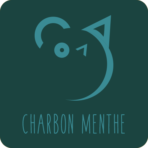 Friandises chiens chats : Charbon / Menthe