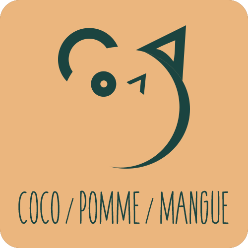 Coco / Pomme / Mangue