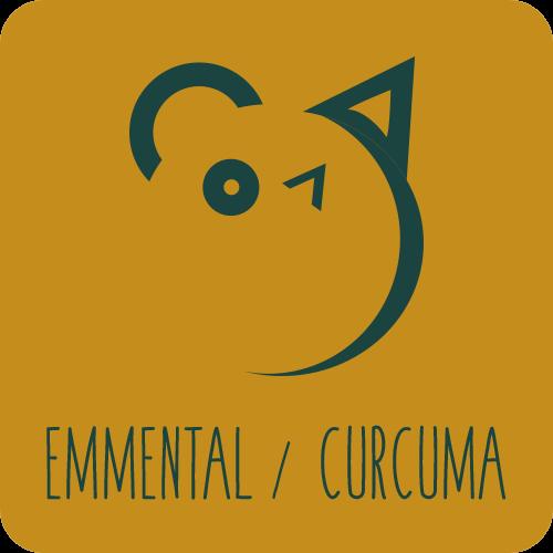 Friandises chiens et chats : Emmental / Curcuma