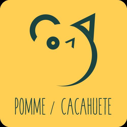 Pomme  / Cacahuète
