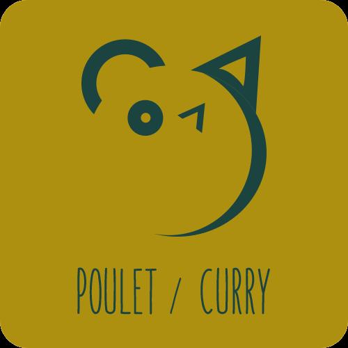 Friandises chiens et chats : Poulet / Curry