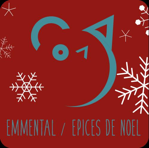 Friandises chiens et chats : Emmental / Épices de Noël