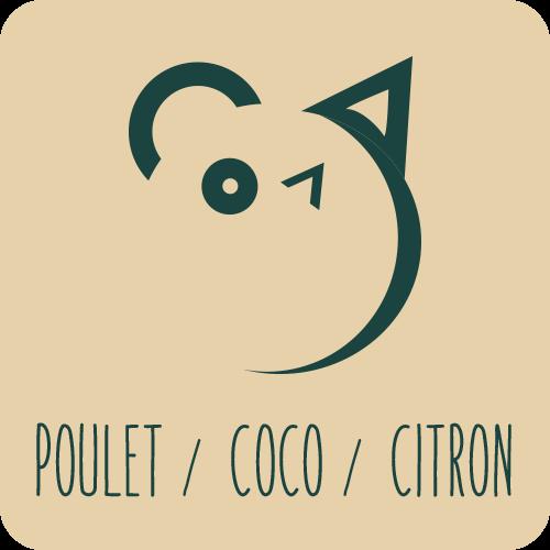 Poulet / Coco / Citron